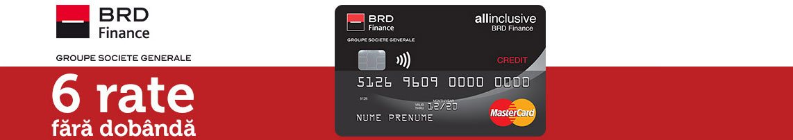 BRD Finance - 6 rate fara dobanda