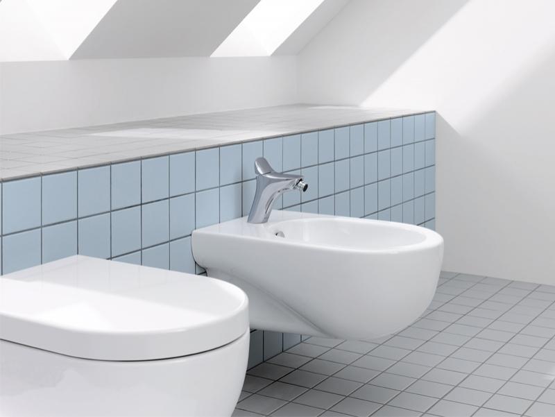 Vas WC, bideu + baterie bideu, AMBA