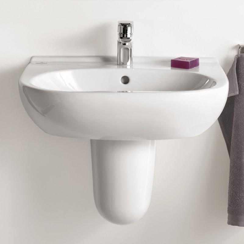 Lavoar suspendat, 55 cm, alb alpin, O.Novo