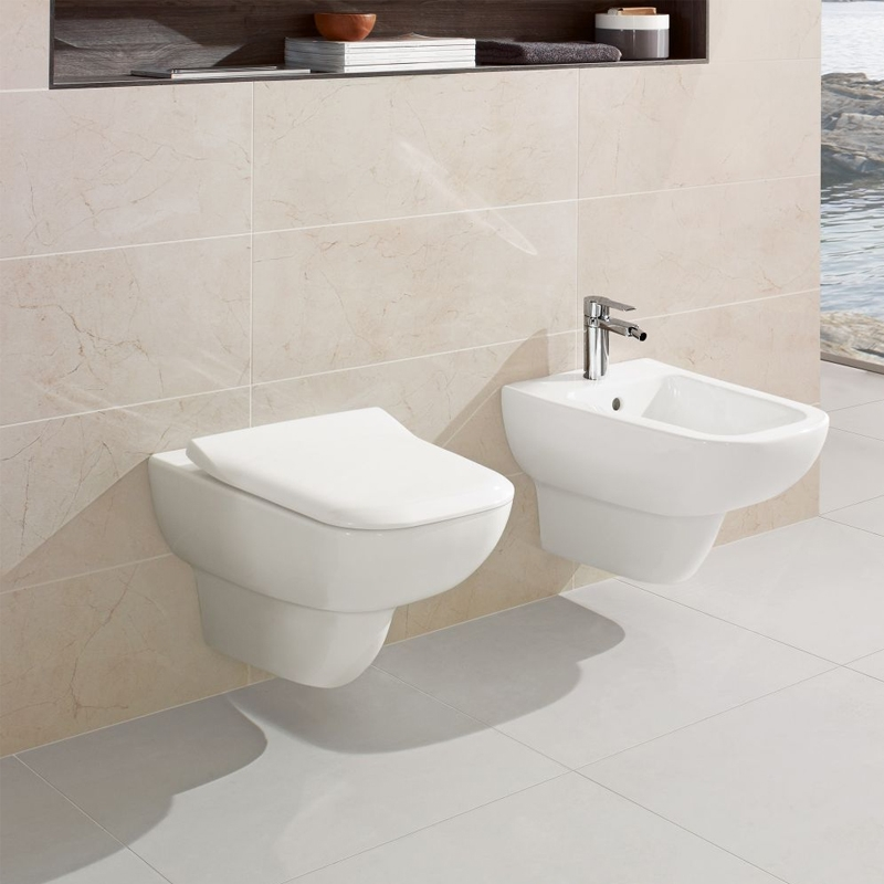 Vas WC suspendat, direct flush, alb alpin, Joyce