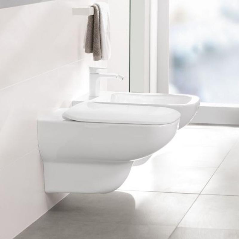 Vas WC suspendat, direct flush, alb alpin, Joyce