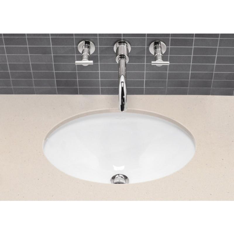 Lavoar sub blat, oval, cu preaplin, 40 cm, Loop & Friends