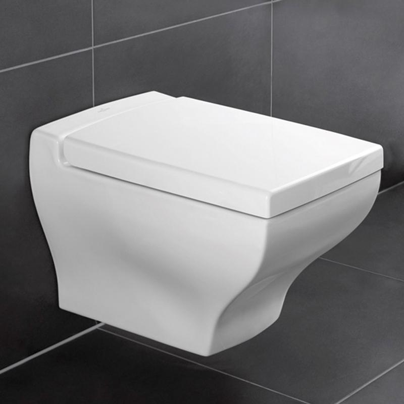Capac WC soft close, alb alpin, La Belle