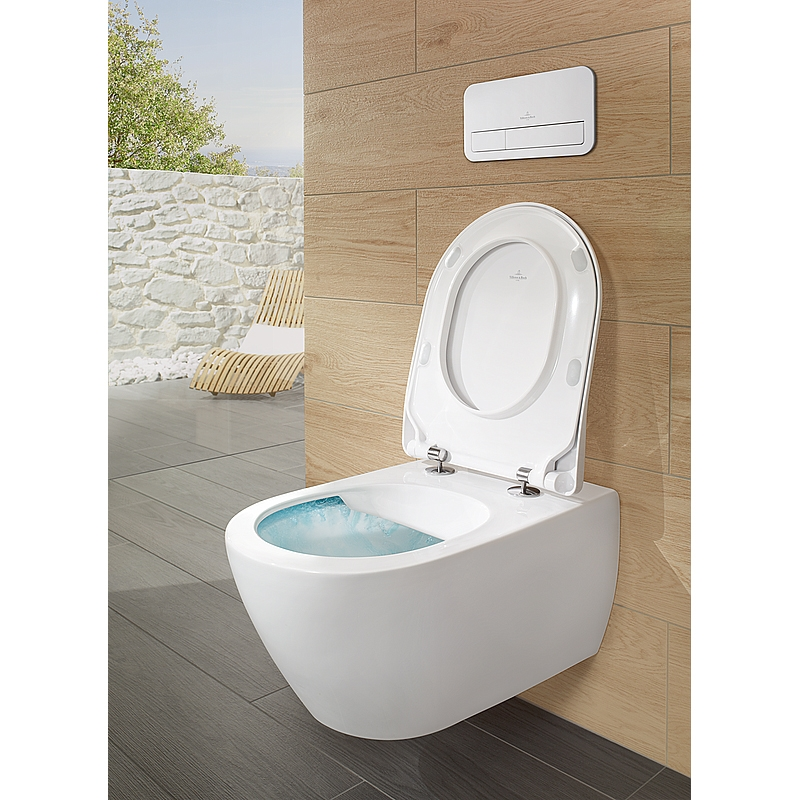 Vas WC suspendat, direct flush, alb alpin, Subway 2.0