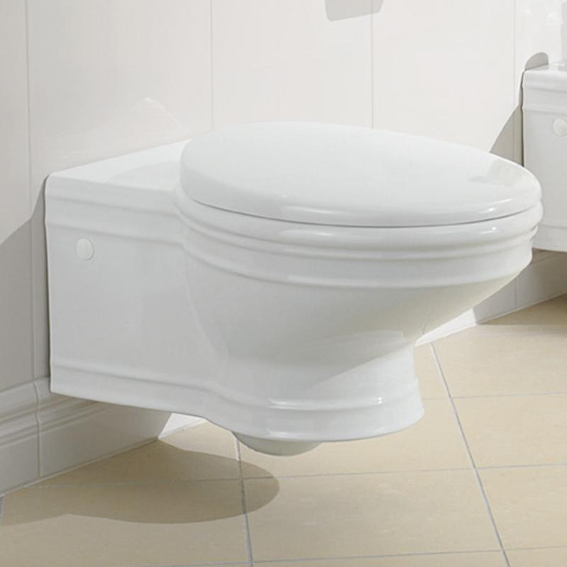 Vas WC suspendat, alb, Amadea