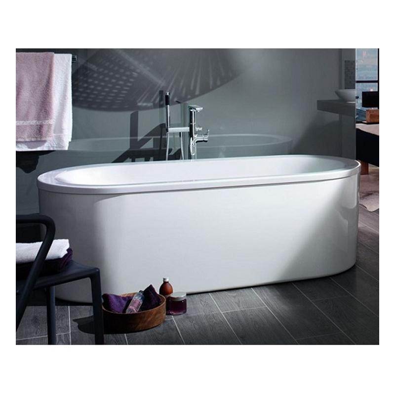 Cada cu interior oval, 180 x 80 cm, alb, Loop & Friends