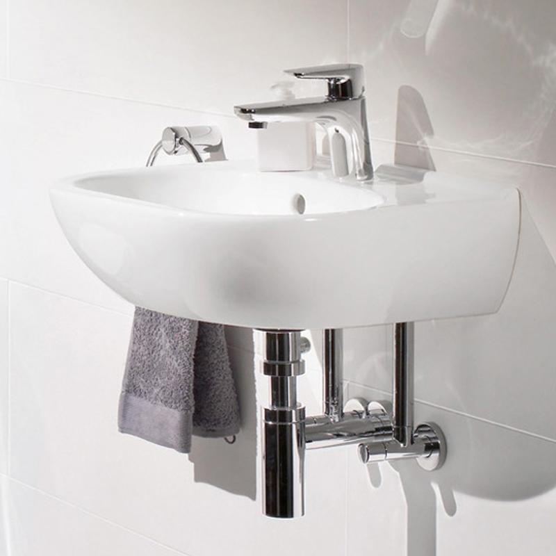 Lavoar suspendat, 45 cm, alb alpin, O. Novo