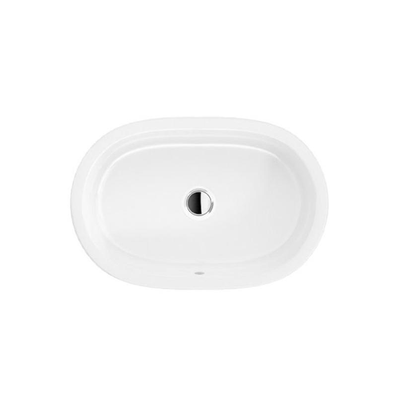 Lavoar pe blat, oval, 60 cm, alb alpin, Arhitectura