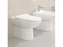 Capac WC slim, soft close, alb, Joyce