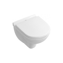 Capac WC, prinderi metalice, alb, O. Novo