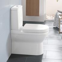Vas WC stativ, monobloc, alb, O. Novo