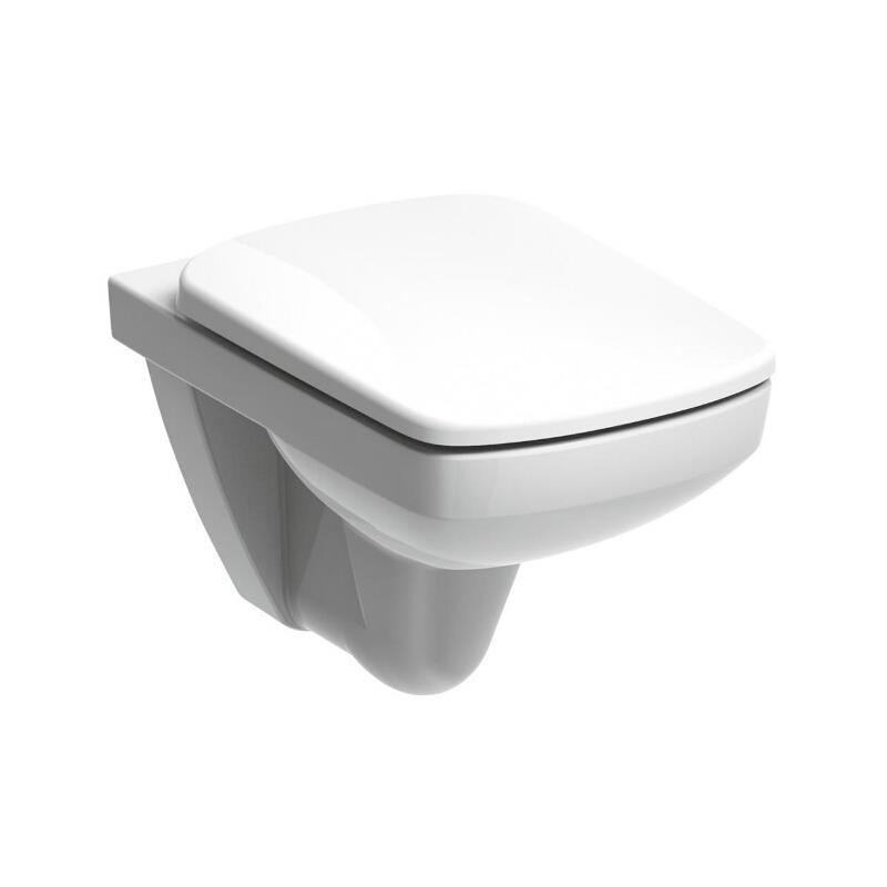 Vas WC rimfree suspendat, alb, Nova Pro