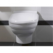 Capac WC Villeroy-Boch, Hommage, soft close, quick release, alb