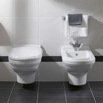 Vas WC suspendat, alb, Hommage