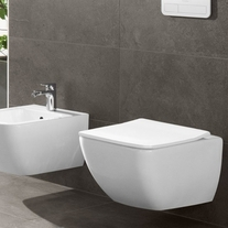 Capac WC slim, soft close, alb, Legato