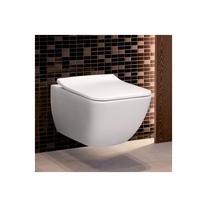 Vas WC dreptunghiular, suspendat, alb, Legato