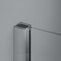 Paravan de dus Sanswiss, Easy, profil crom lucios, 110 x 200 cm