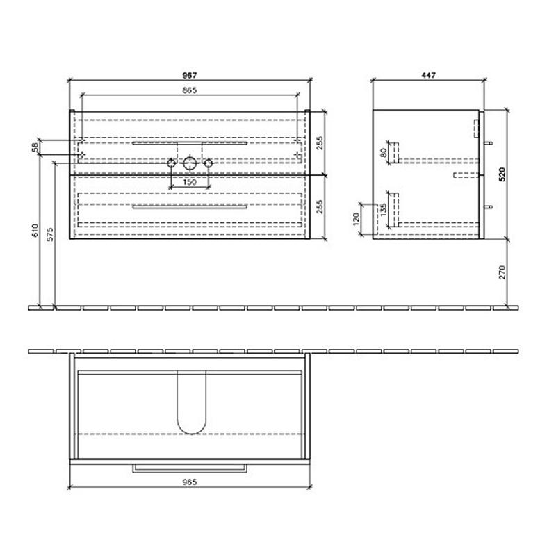 Schita-tehnica-Mobilier-Villeroy-Boch-Avento