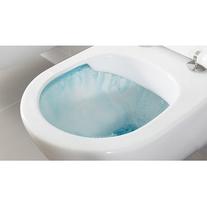 Vas WC suspendat, compact, alb alpin, O.Novo