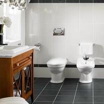 Vas WC stativ, ceramic plus, alb, Hommage