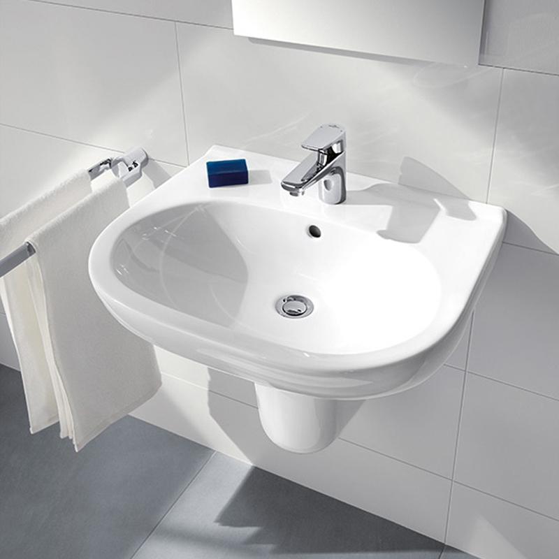 Lavoar suspendat, 60 cm, alb alpin, O.Novo