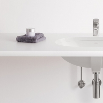 Lavoar sub blat Villeroy & Boch, O.Novo, oval, 53 cm, alb alpin