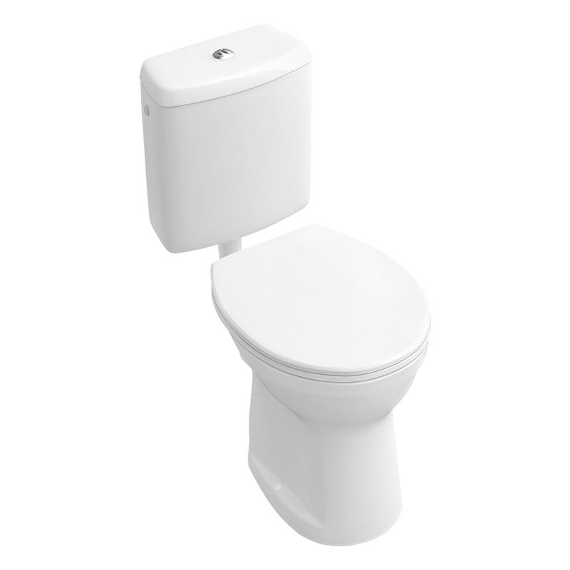 Rezervor pentru vas WC, alb alpin, O.Novo