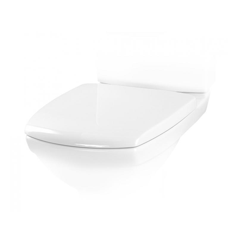 Capac WC Cersanit, Carina, din duroplast, alb