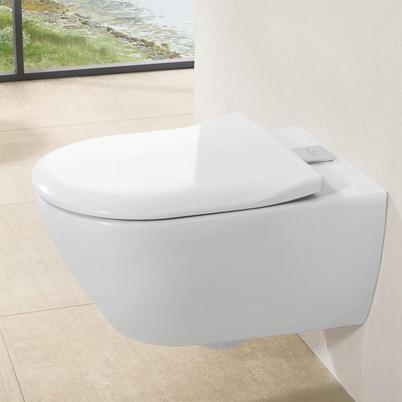 Vas WC suspendat, direct flush, ViFresh, alb alpin, Subway 2.0