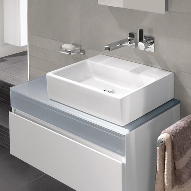 Lavoar suspendat, 60 cm, alb alpin, Memento