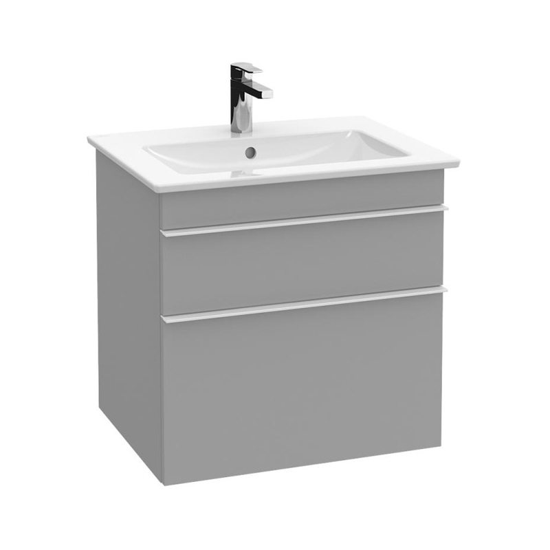 Lavoar pentru mobilier, dreptunghiular, 65 cm, alb alpin, Venticello