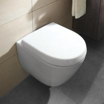 Vas WC suspendat, compact, direct flush, alb alpin, Subway 2.0