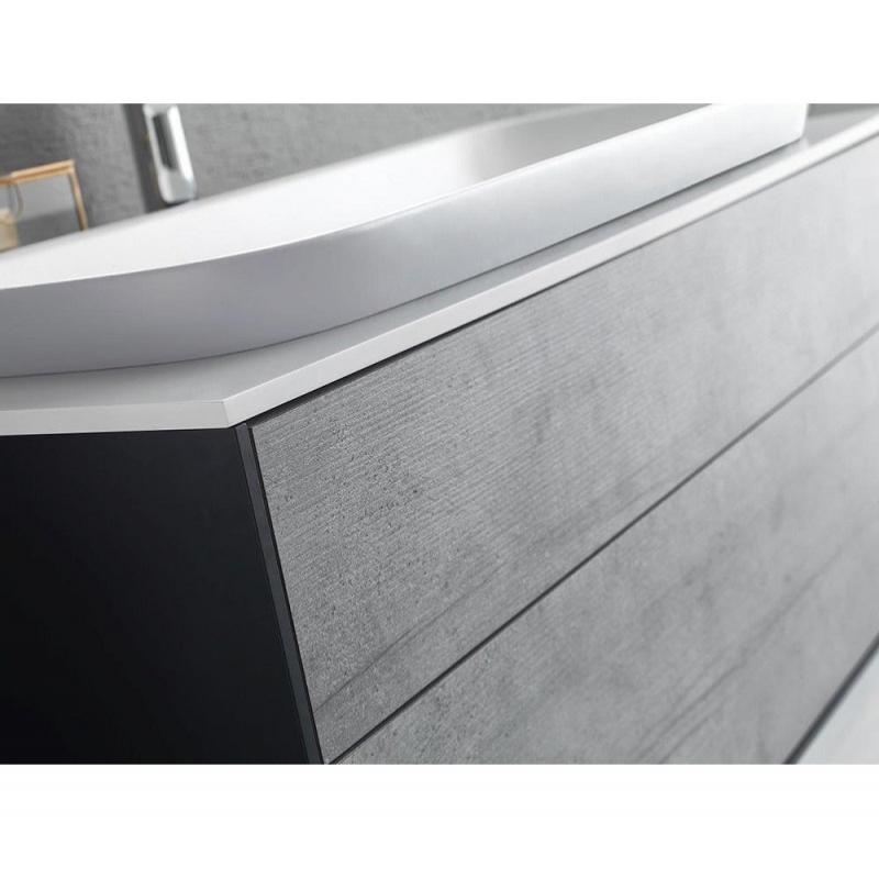 Set mobilier + lavoar, 100 cm, alb, Gloria