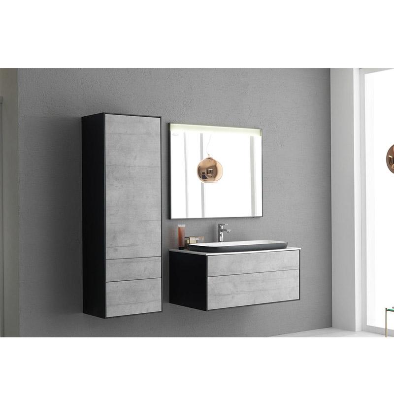 Set mobilier suspendat si lavoar Kolpasan, Gloria, 70 cm