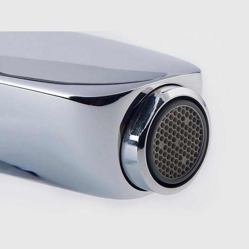 Baterie bideu Kludi, Pure & Style, cu ventil metalic, crom