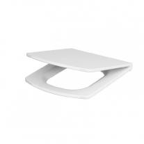 Set vas WC Cersanit, Easy New, stativ, alimentare verticala, Rimless cu rezervor si capac Soft-Close si Easy Off inclus