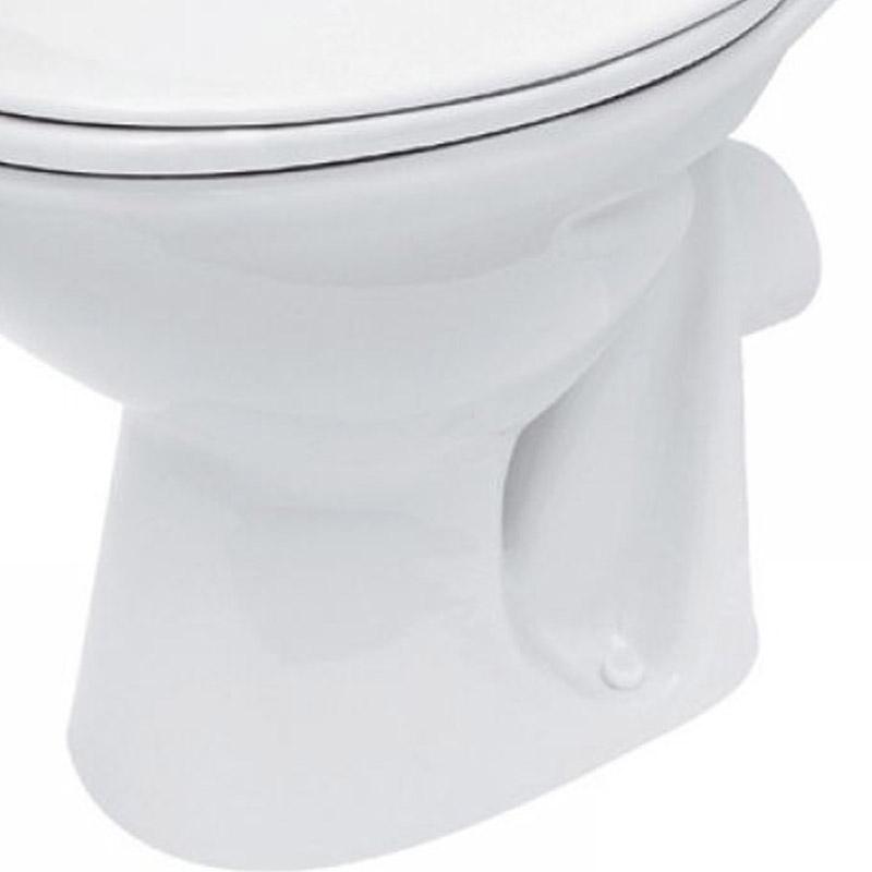 Capac WC Cersanit, President, din duroplast cu Soft-Close si Easy Off, alb