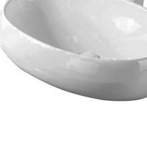 Lavoar pe blat Fluminia, Lheea, alb, 58.5 x 40 cm