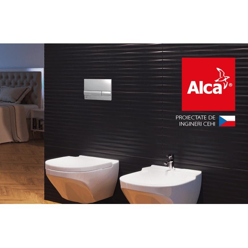Rezervor wc incastrat Alcaplast, Sadromodul, pentru instalari uscate (in gips-carton)