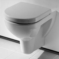 Set vas WC suspendat Laufen, Pro P, cu capac wc soft close, alb