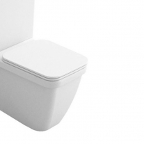 Vas WC monobloc Hatria, Erika PRO Q, rectificat, alb