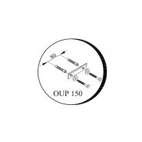 Set mobilier suspendat si lavoar Kolpasan, Pandora, 75 cm, alb