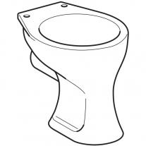 Vas WC stativ Geberit, Bambini, alb