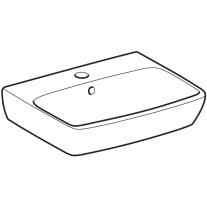 Lavoar Geberit, Selnova Square, 45 cm, alb