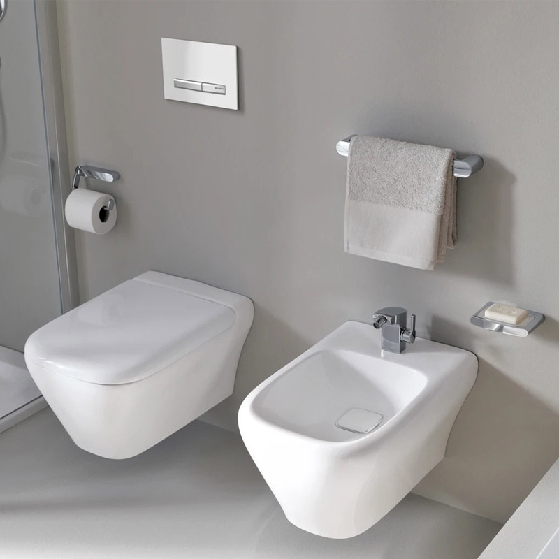 Vas WC Geberit, myDay, rimfree, alb