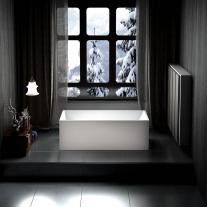 Cada freestanding, Florida, Ajax New 150, dreptunghiulara, cu instalatie completa, alb