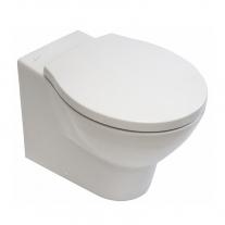 Capac WC Hatria, Le Fiabe, Nido, soft close, alb