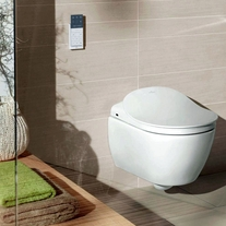 Vas WC suspendat, pentru ViClean, alb alpin, Subway 2.0