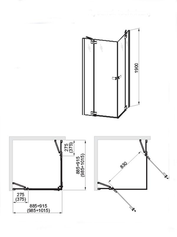 Desen tehnic cabina patrata, Verra Line
