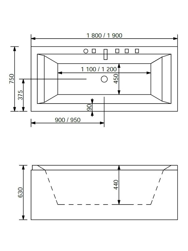 Desen tehnic cada Titano